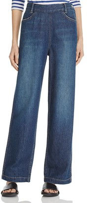 Vince High-Rise Side Zip Jeans $275 thestylecure.com