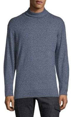 Zachary Prell Mockneck Cotton Sweater