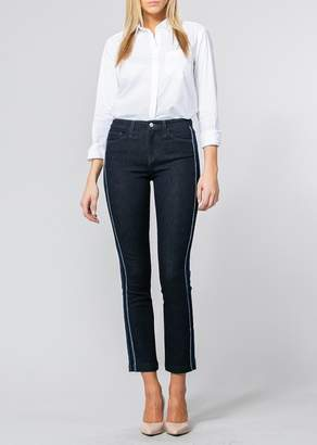 Flying Monkey Faria High Rise Tuxedo Ankle Straight Jeans