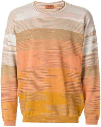 Missoni tonal patterned sweater