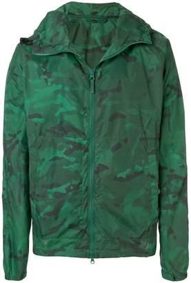 Aspesi camouflage hooded jackets