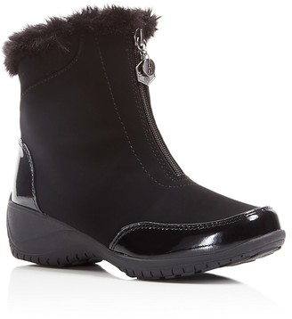 Khombu Alice Cold Weather Booties $75 thestylecure.com