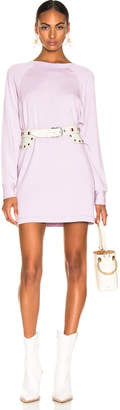 Enza Costa Easy Long Sleeve Raglan Dress