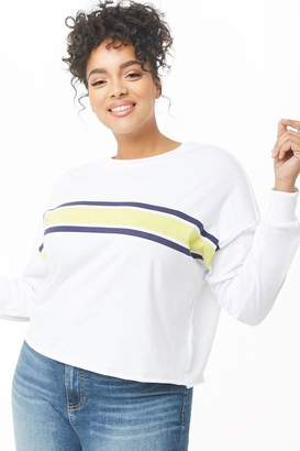 8aca0877ae5 Forever 21 White Plus Size Tops - ShopStyle Canada