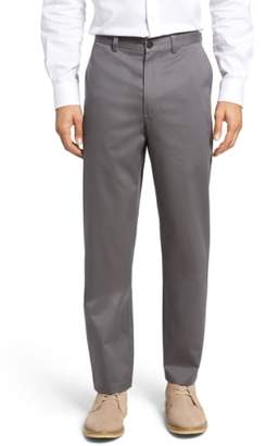 Nordstrom 'Classic' Smartcare(TM) Relaxed Fit Flat Front Cotton Pants