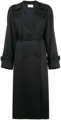 The Row double breasted trench coat