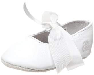 Ralph Lauren Layette Briley Ballet Crib Shoe (Infant/Toddler)