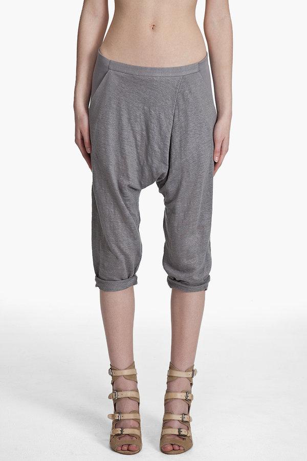Helmut lang Flecked Linen Pants