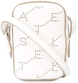Stella McCartney perforated logo shoulder bag