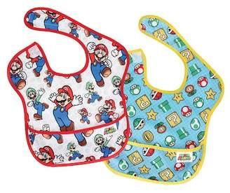 Bumkins Nintendo Superbib 2-Pack (Baby Boys)