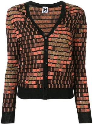 M Missoni geometric pattern cardigan