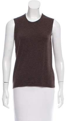 Hermes Sleeveless Cashmere Sweater