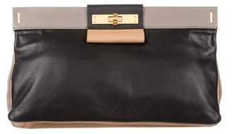 Marc by Marc Jacobs Leather Frame Clutch