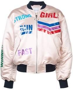 Mira Mikati Print Bomber Jacket