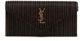 Saint Laurent Le Sept velvet clutch bag