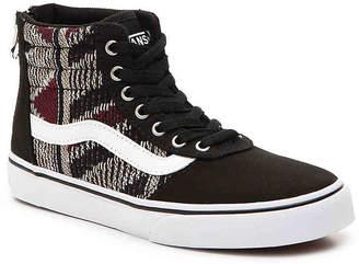 Vans Maddie Hi Zip Toddler & Youth High-Top Sneaker - Girl's