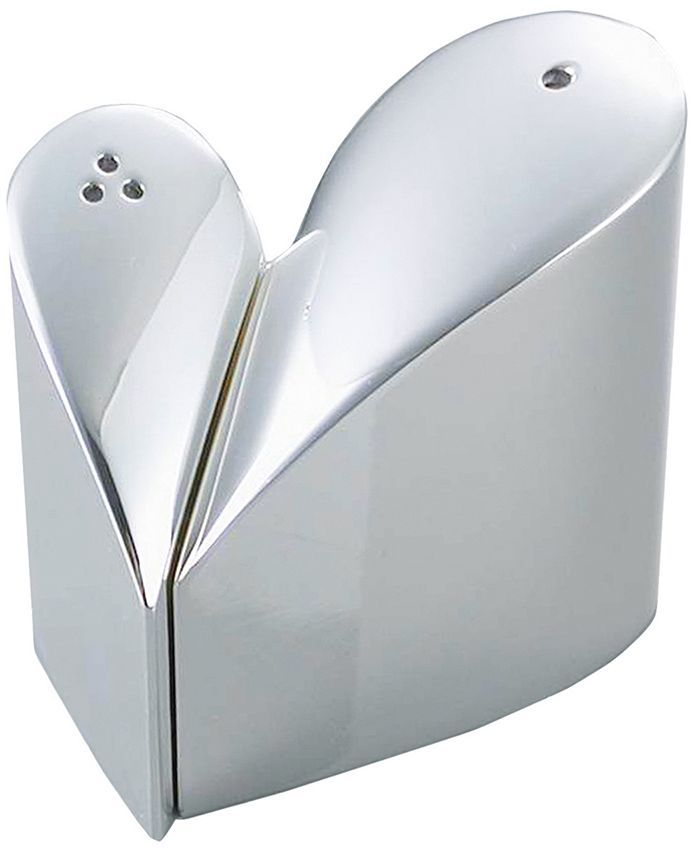 Natico heart-shaped salt & pepper shaker