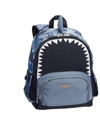 Pottery Barn Kids Mackenzie Critter Navy Shark Lunch Bag