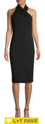 Rachel Roy Harland Cross-Front Halter Dress