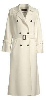 Max Mara Oidio Doppio Wool Trench