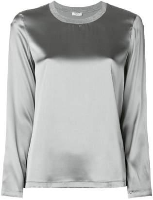 Peserico round neck blouse
