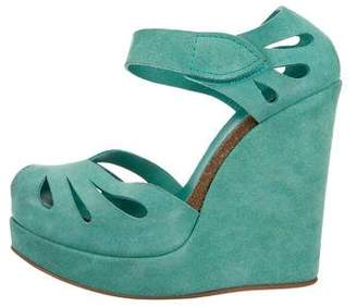Pedro Garcia Carlota Cutout Wedge Sandals