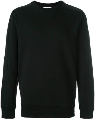 Les Benjamins panelled sweatshirt