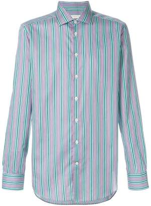 Etro stripped buttoned up shirt