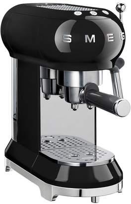 Smeg ECF01 Espresso Coffee Machine - Black