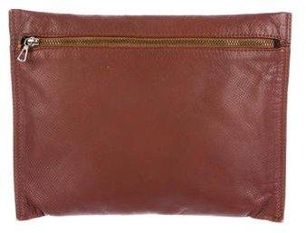 Bottega VenetaBottega Veneta Textured Leather Wristlet
