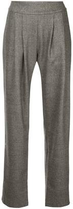 Matin pleated front trousers