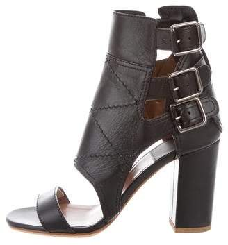 Laurence Dacade Leather Caged Sandals