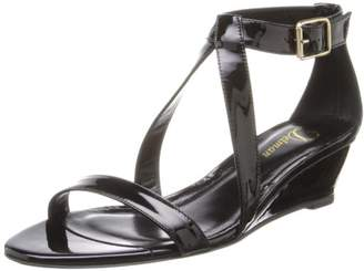 Delman Women's Caryn Wedge Sandal