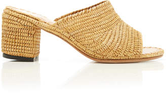 Carrie Forbes Rama Raffia Slides