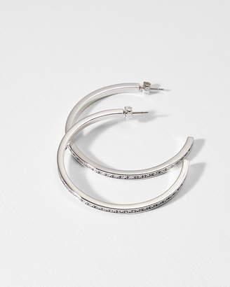 Ted Baker SENRA Large crystal hoop earrings