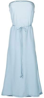 Kacey Devlin strapless midi dress