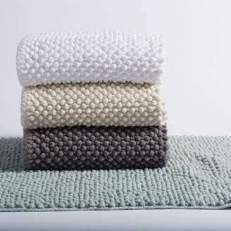 "Coyuchi Pebbled Chenille Organic Cotton Bath Rug, 24"" x 36"""