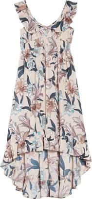 O'Neill Clea Woven High/Low Dress