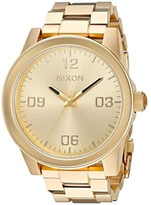 Nixon Women's 'G.I. SS' Quartz Metal and Stainless Steel Watch