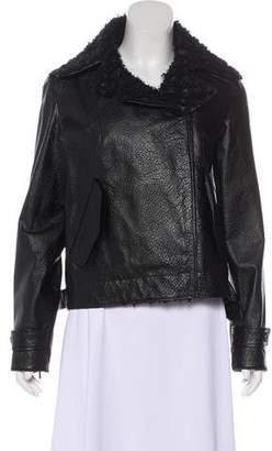 Chanel Leather Biker Jacket