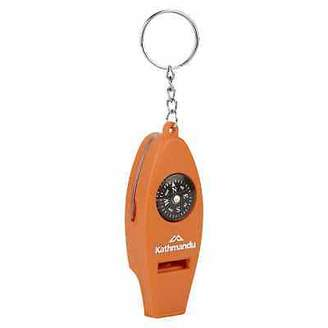 Equipment Kathmandu All-in-one Whistle Compass Magnifier Thermometer Keyring