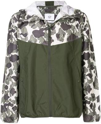 Herschel hooded wind breaker jacket