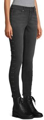 Scoop Skinny Jean with Studs Women's