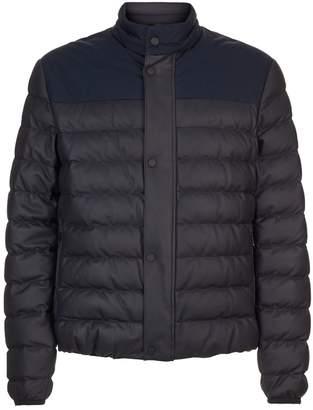 Ermenegildo Zegna Padded Leather Coat