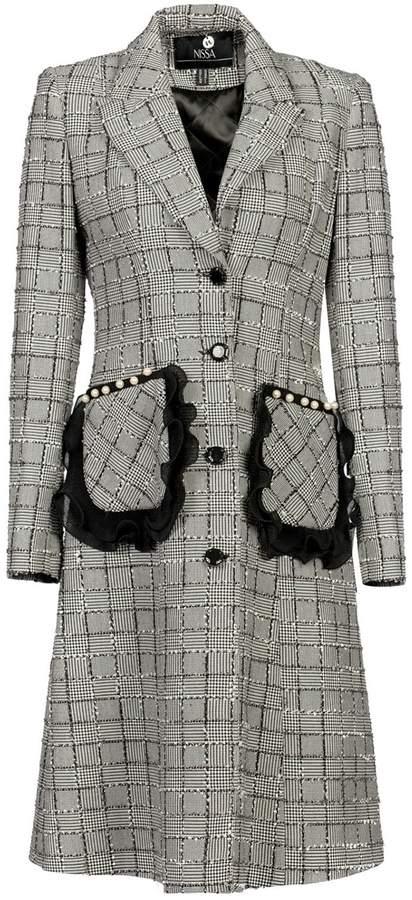 Nissa - Stylish Coat with Oversized Pockets