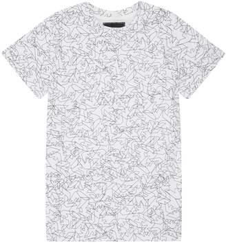Emporio Armani Scribble Eagle T-Shirt
