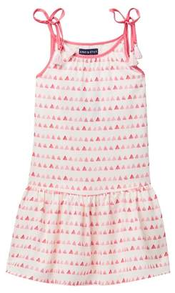 Andy & Evan Triangle Print Dress (Toddler & Little Girls)