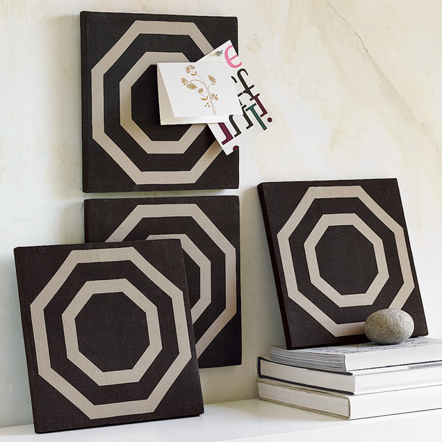 Print Stretch-Canvas Pushpin Board