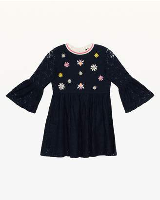 Juicy Couture Embroidered Lace Dress for Girls
