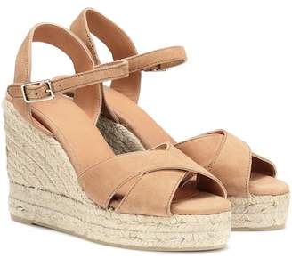 Castaner Blaudel suede wedge sandals